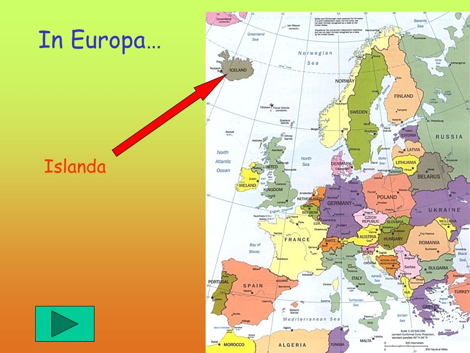 In Europa… Islanda