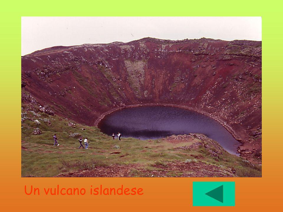 Spento Un vulcano islandese