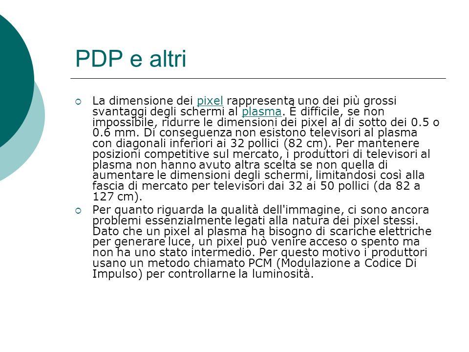 PDP e altri