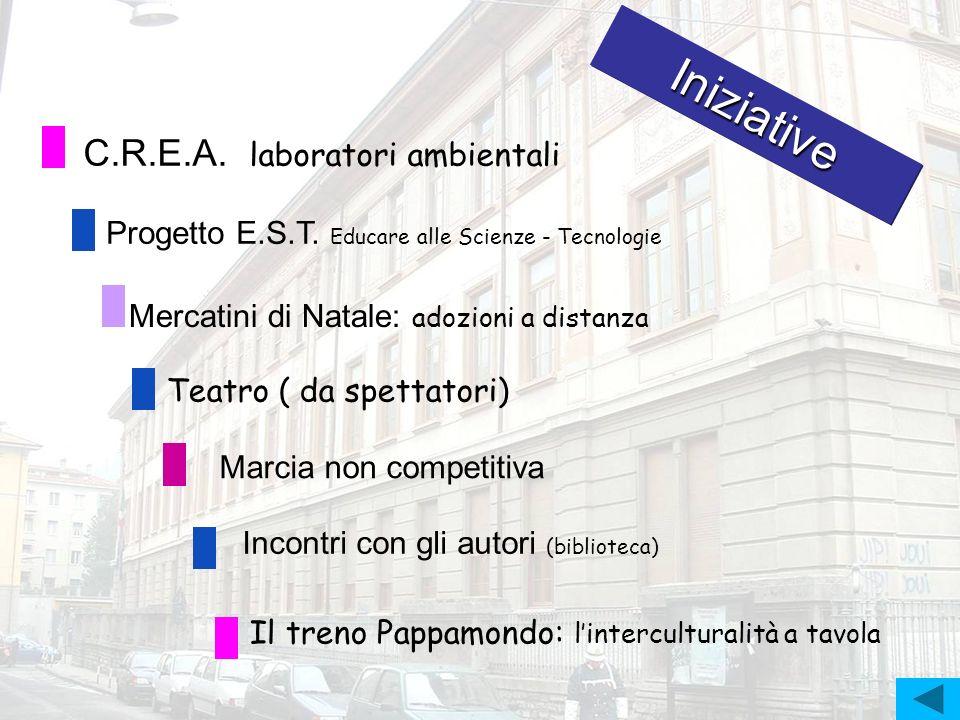 Iniziative C.R.E.A. laboratori ambientali