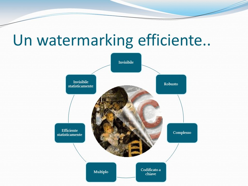 Un watermarking efficiente..