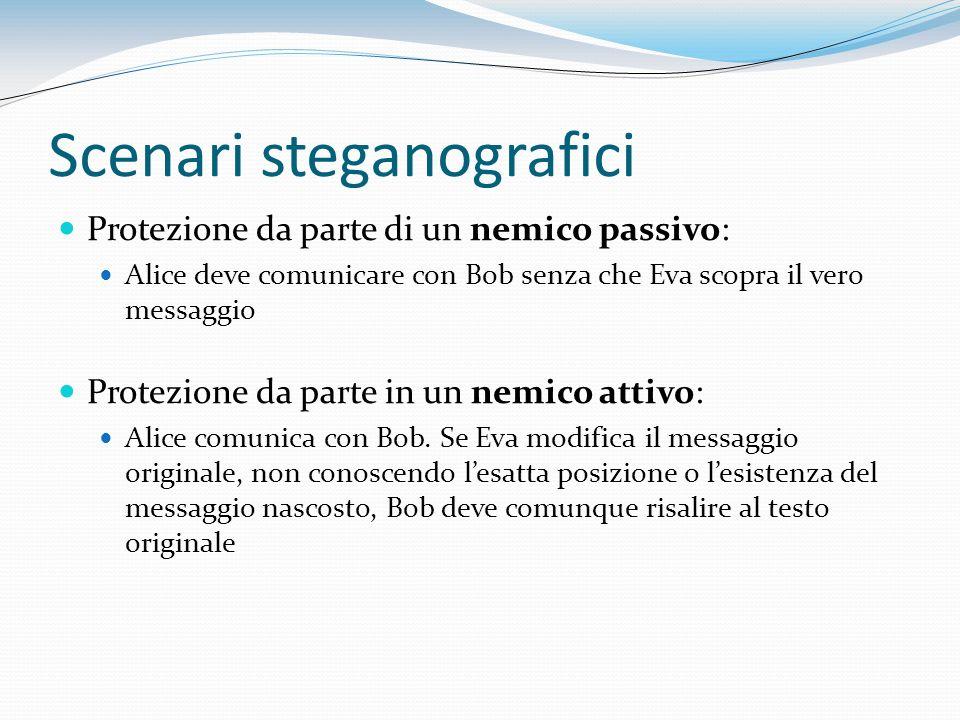 Scenari steganografici