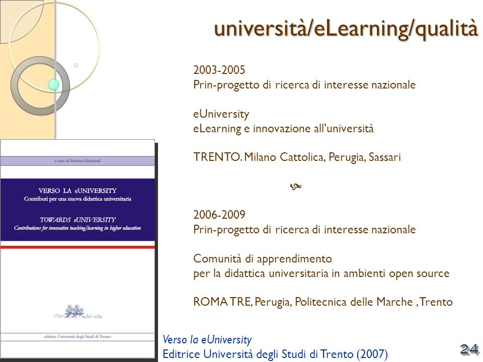 università/eLearning/qualità