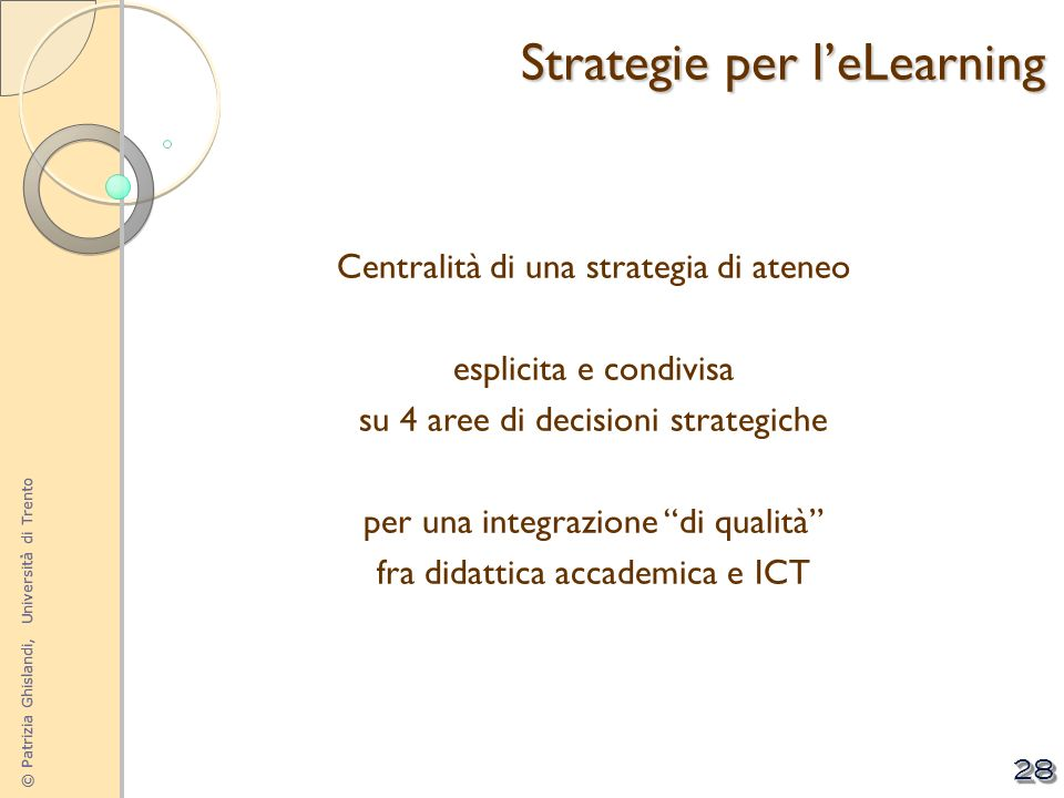 Strategie per l'eLearning