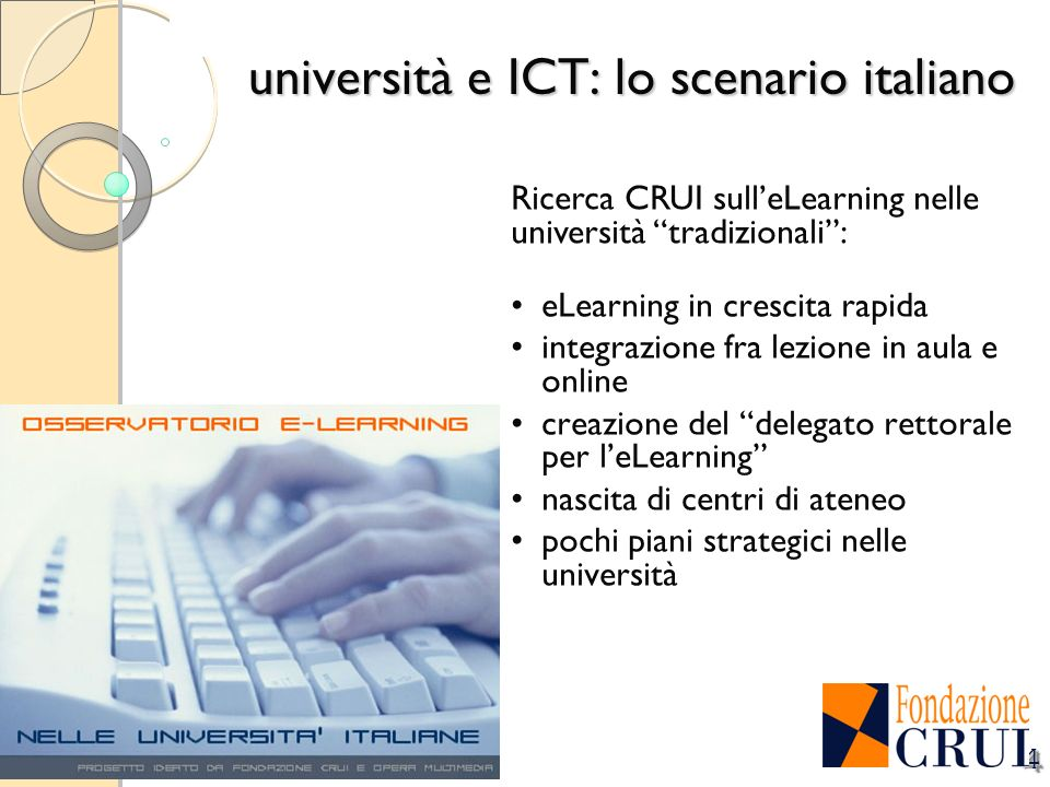 università e ICT: lo scenario italiano