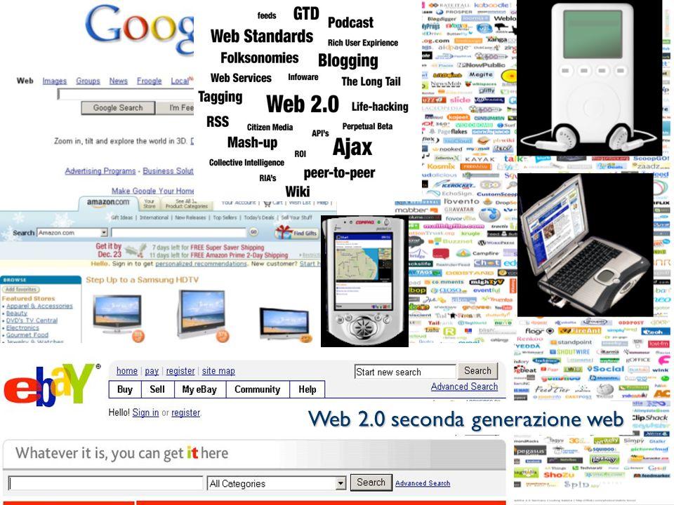 Web 2.0 seconda generazione web