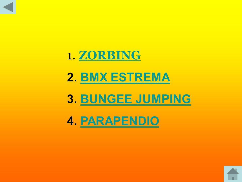 ZORBING BMX ESTREMA BUNGEE JUMPING PARAPENDIO