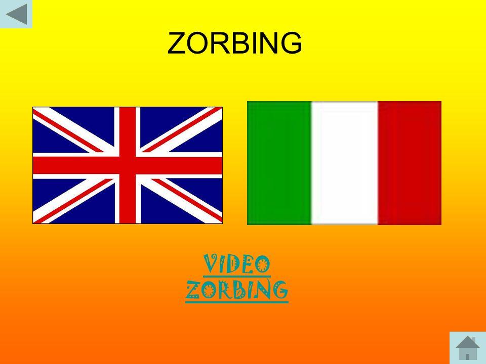 ZORBING VIDEO ZORBING