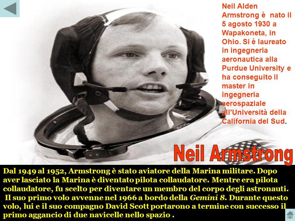 Neil Alden Armstrong è nato il 5 agosto 1930 a Wapakoneta, in Ohio