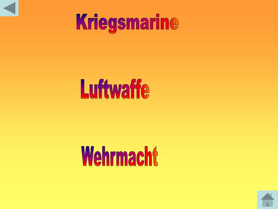 Kriegsmarine Luftwaffe Wehrmacht