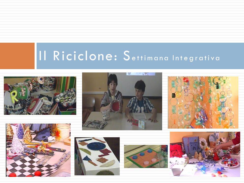 Il Riciclone: Settimana Integrativa