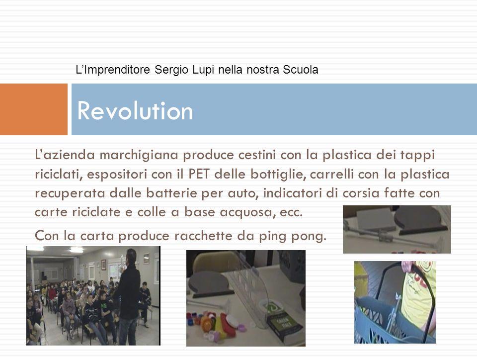 L'Imprenditore Sergio Lupi nella nostra Scuola