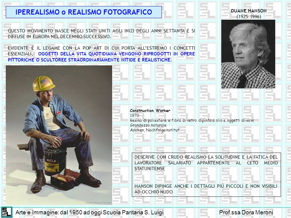 IPEREALISMO o REALISMO FOTOGRAFICO