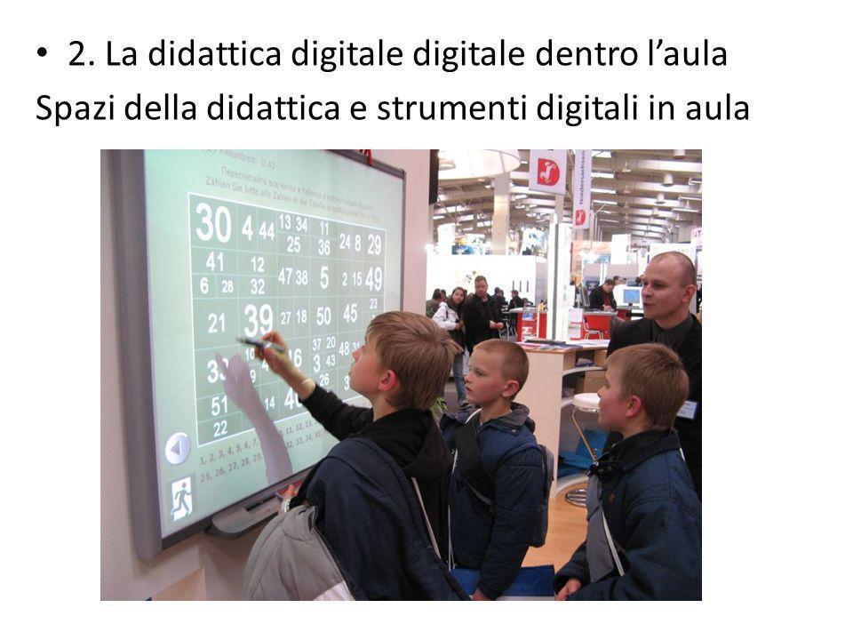 2. La didattica digitale digitale dentro l'aula