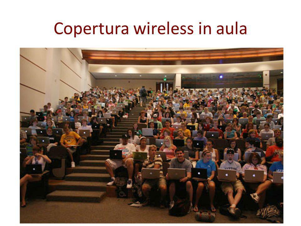 Copertura wireless in aula