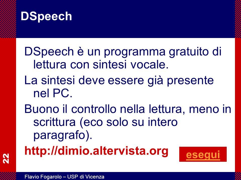 DSpeech è un programma gratuito di lettura con sintesi vocale.