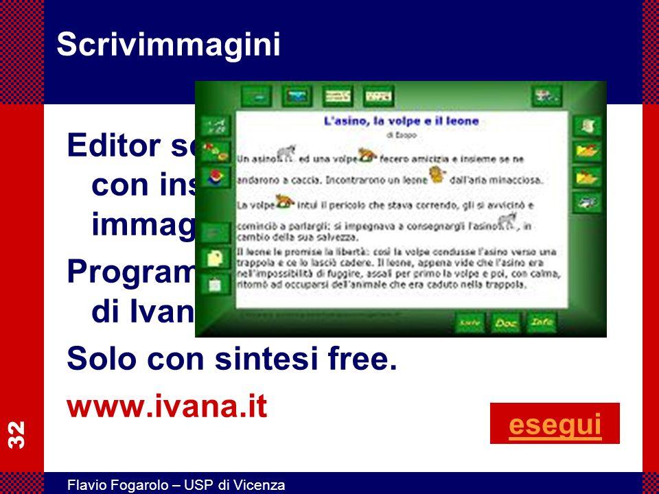 Programma gratuito di Ivana Sacchi. Solo con sintesi free.