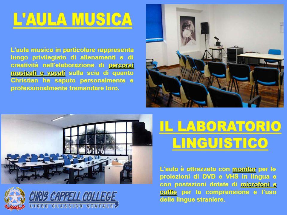 L AULA MUSICA IL LABORATORIO LINGUISTICO