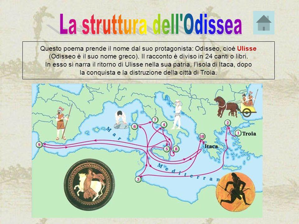 La struttura dell Odissea