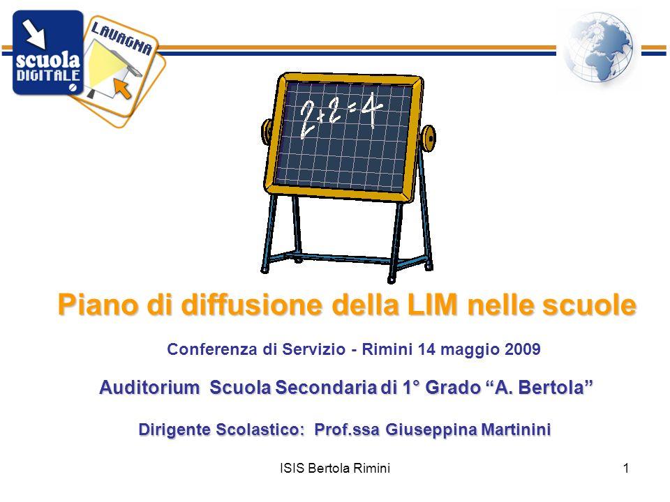 Conferenza di Servizio - Rimini 14 maggio 2009