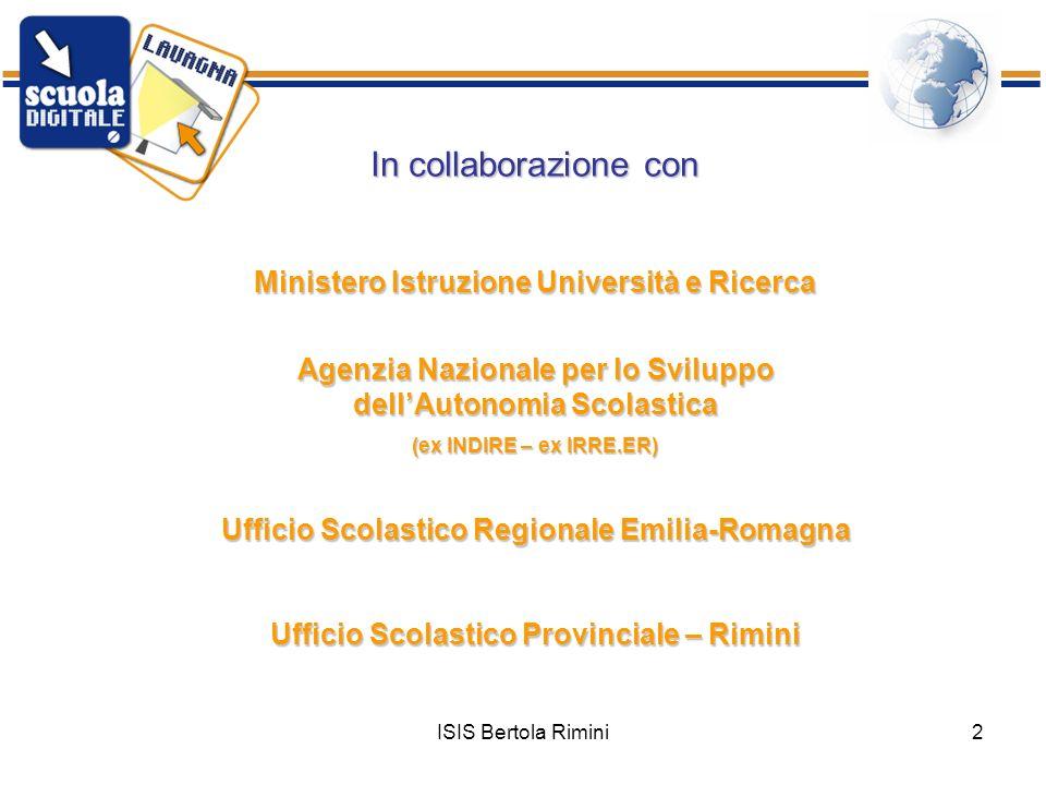 In collaborazione con Ministero Istruzione Università e Ricerca