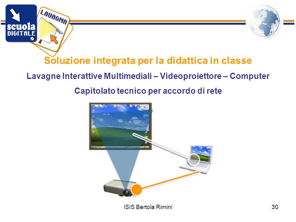 Soluzione integrata per la didattica in classe