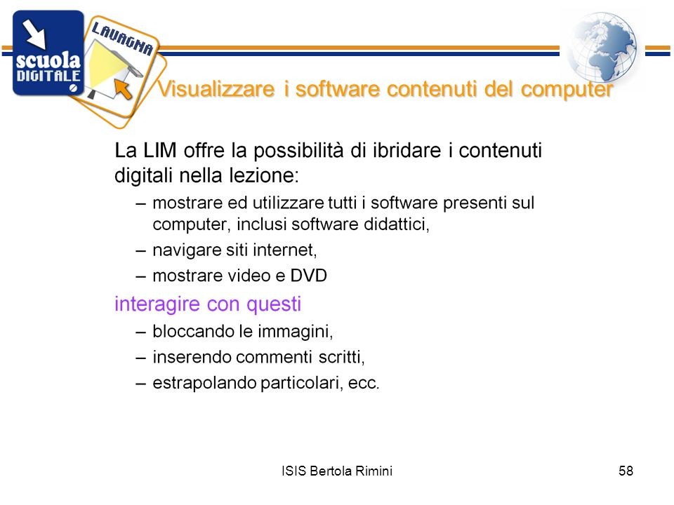 Visualizzare i software contenuti del computer