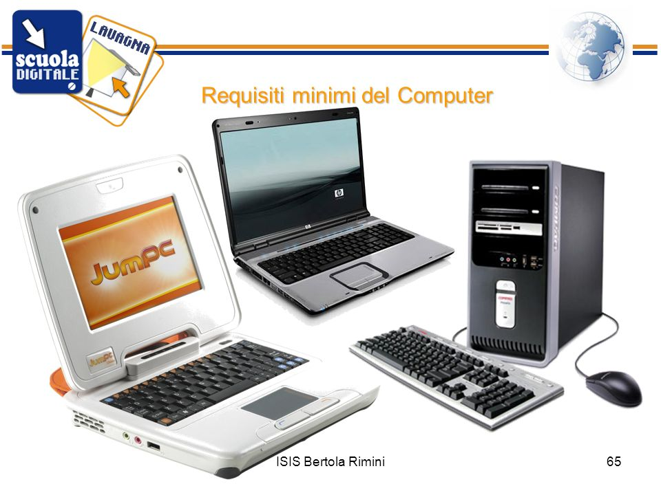 Requisiti minimi del Computer