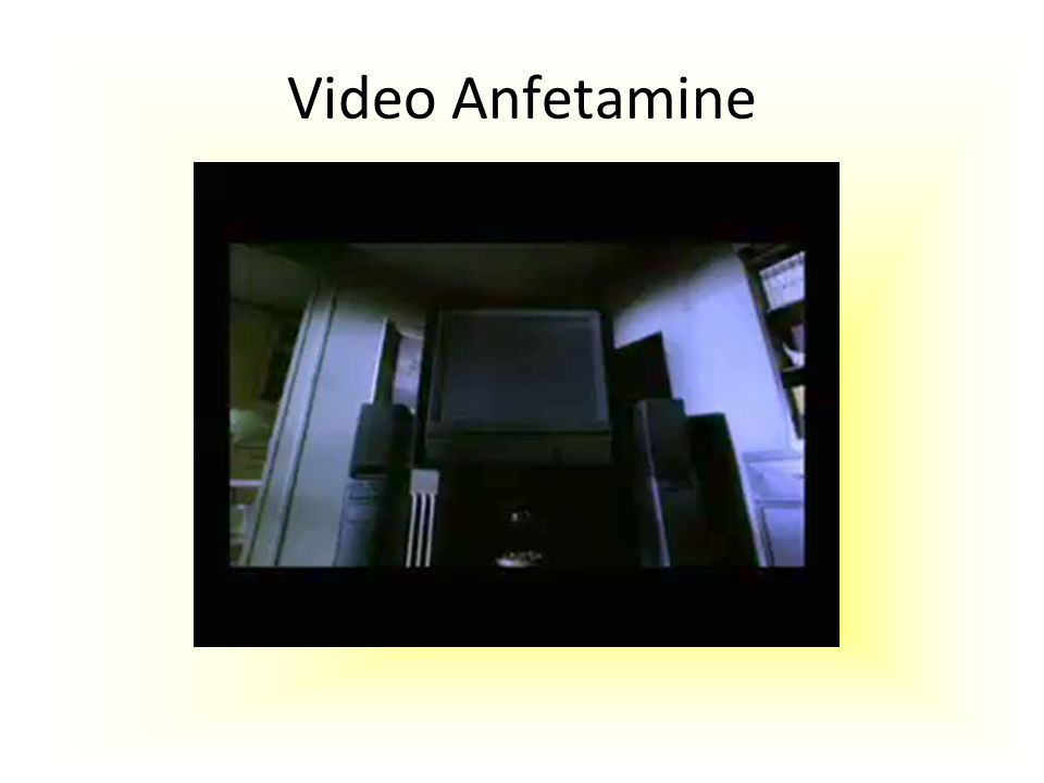 Video Anfetamine