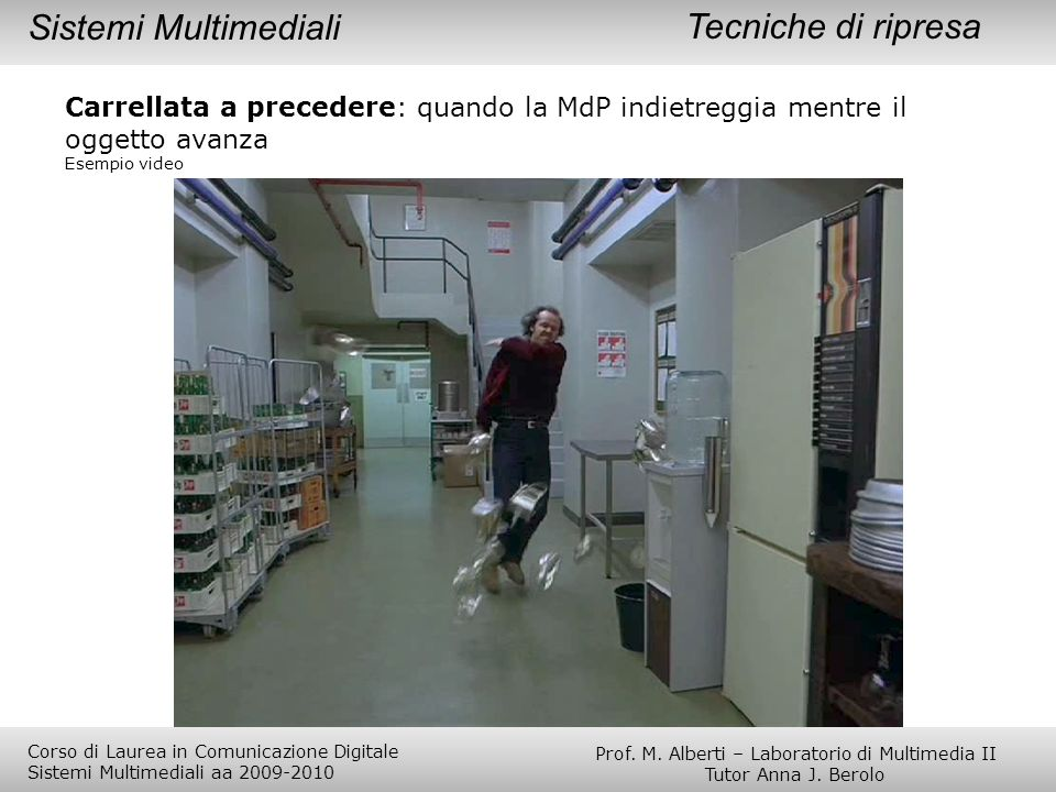 Prof. M. Alberti – Laboratorio di Multimedia II