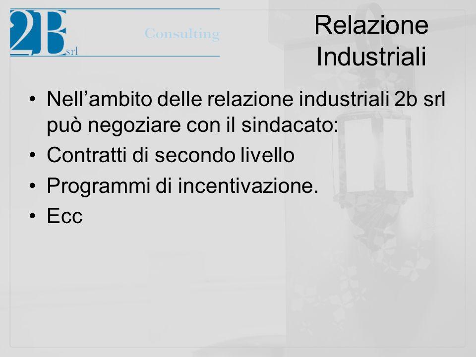Relazione Industriali