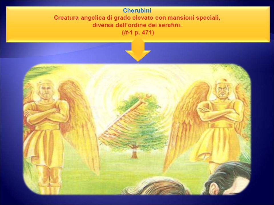 Creatura angelica di grado elevato con mansioni speciali,