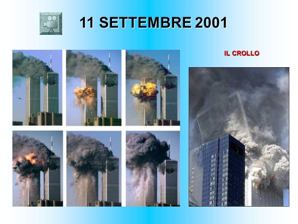 11 SETTEMBRE 2001 IL CROLLO