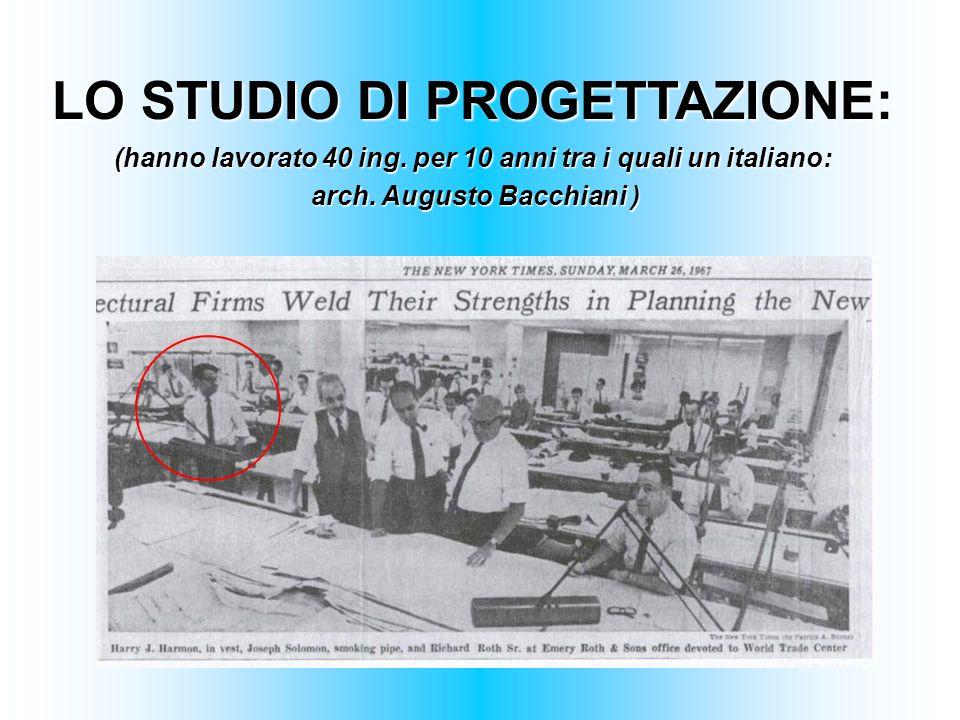 LO STUDIO DI PROGETTAZIONE: