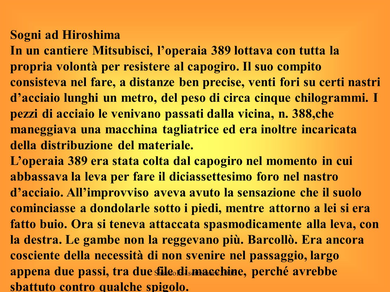 Sogni ad Hiroshima