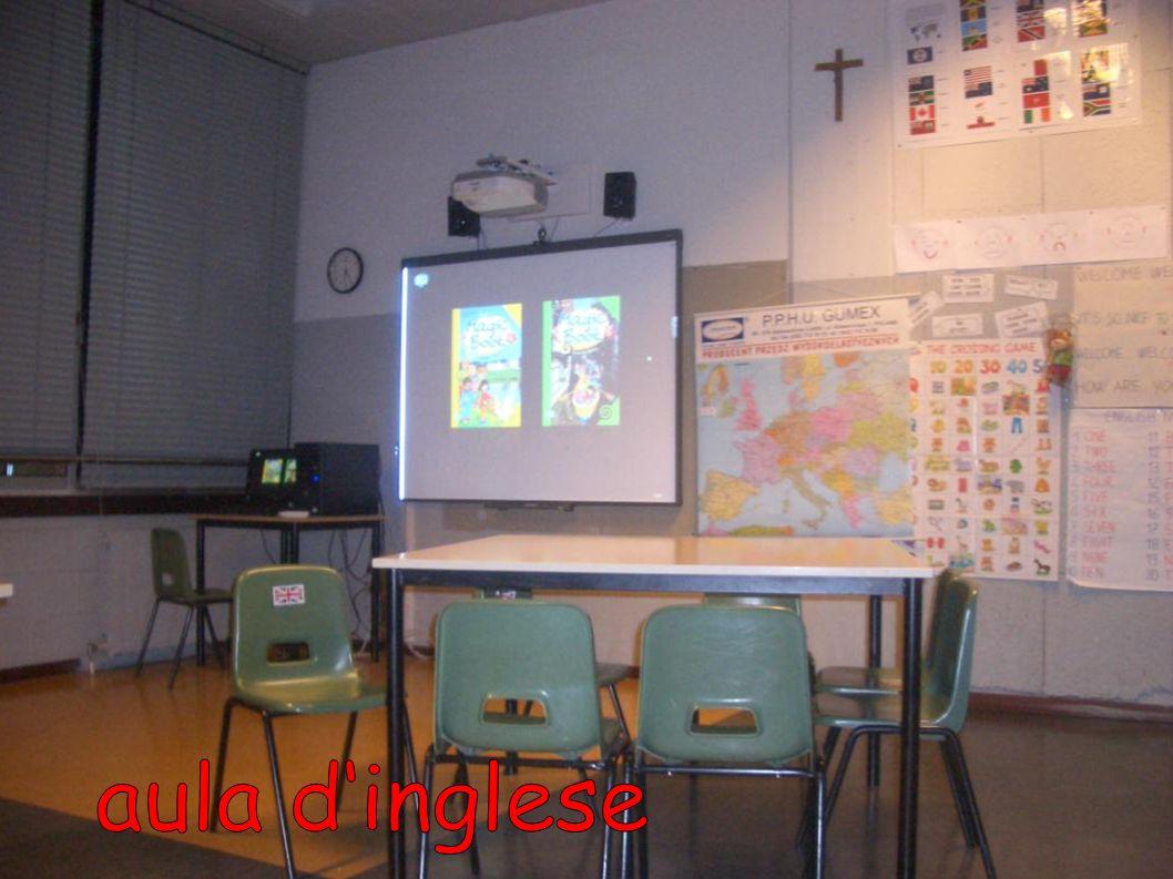 aula d'inglese