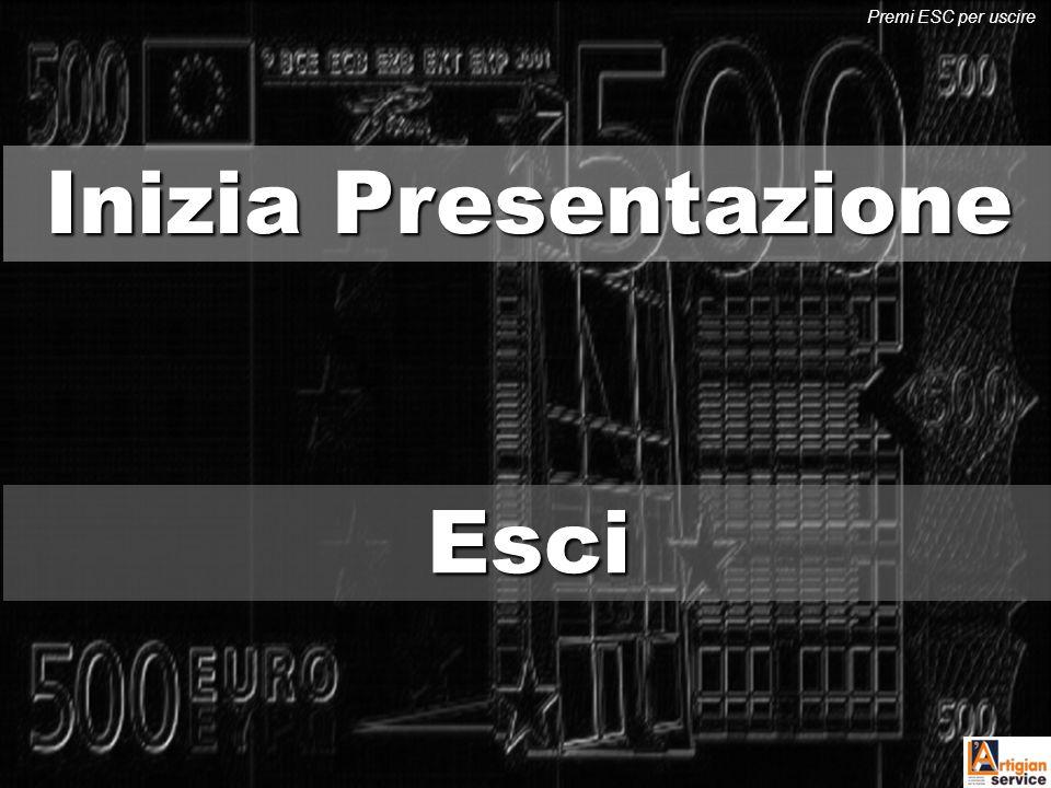 Premi ESC per uscire Inizia Presentazione Esci