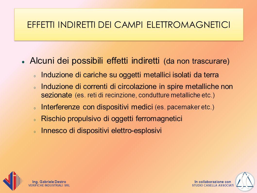 EFFETTI INDIRETTI DEI CAMPI ELETTROMAGNETICI
