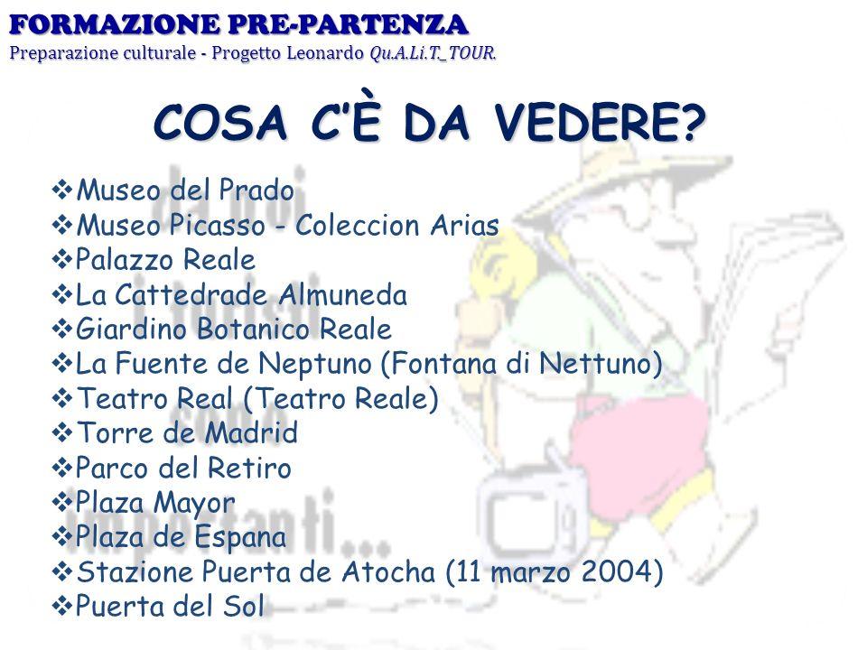 COSA C'È DA VEDERE FORMAZIONE PRE-PARTENZA Museo del Prado