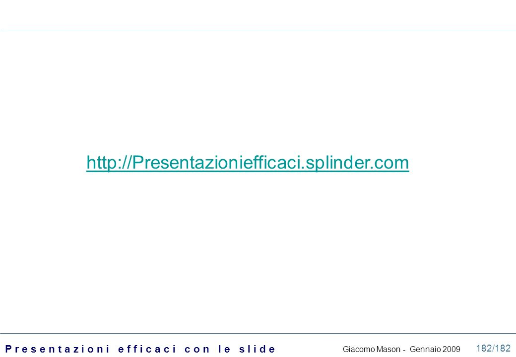 http://Presentazioniefficaci.splinder.com