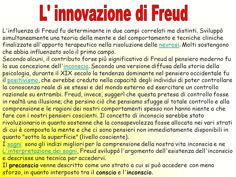 L innovazione di Freud