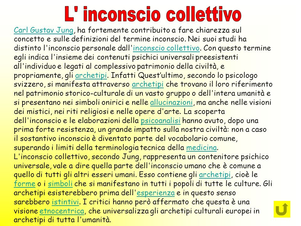 L inconscio collettivo