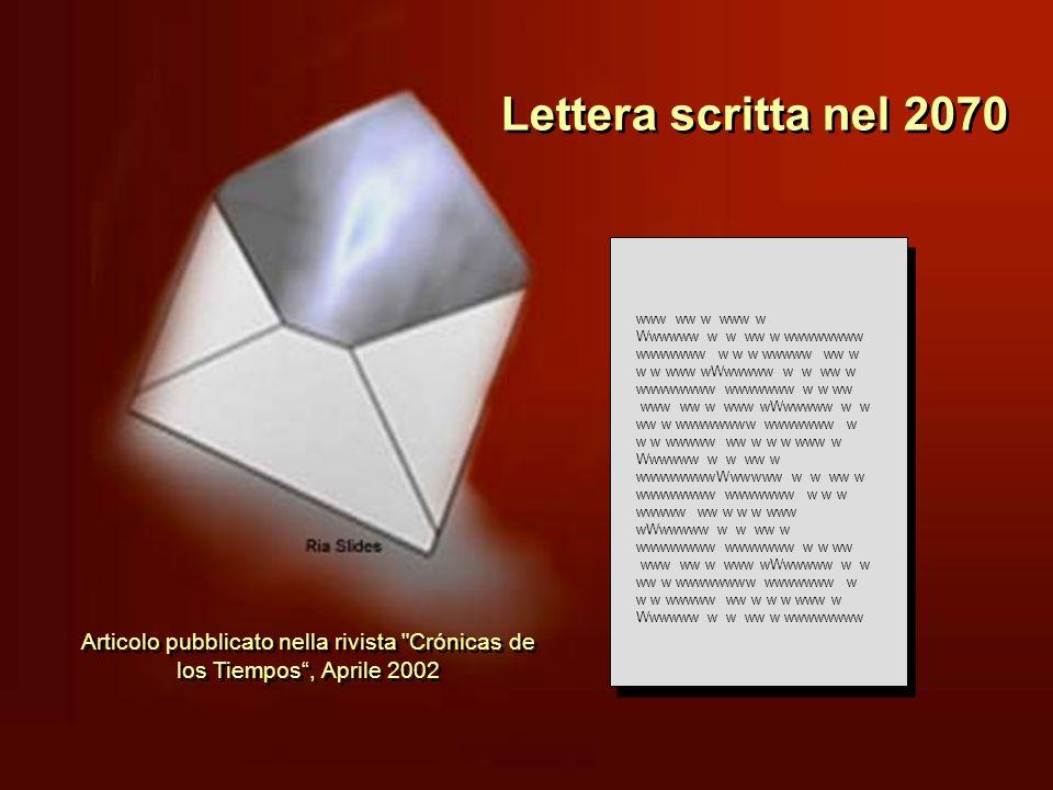 Lettera scritta nel 2070 www ww w www w. Wwwwww w w ww w wwwwwwww wwwwwww w w w wwwww ww w w w www wWwwwww w w ww w wwwwwwww wwwwwww w w ww.