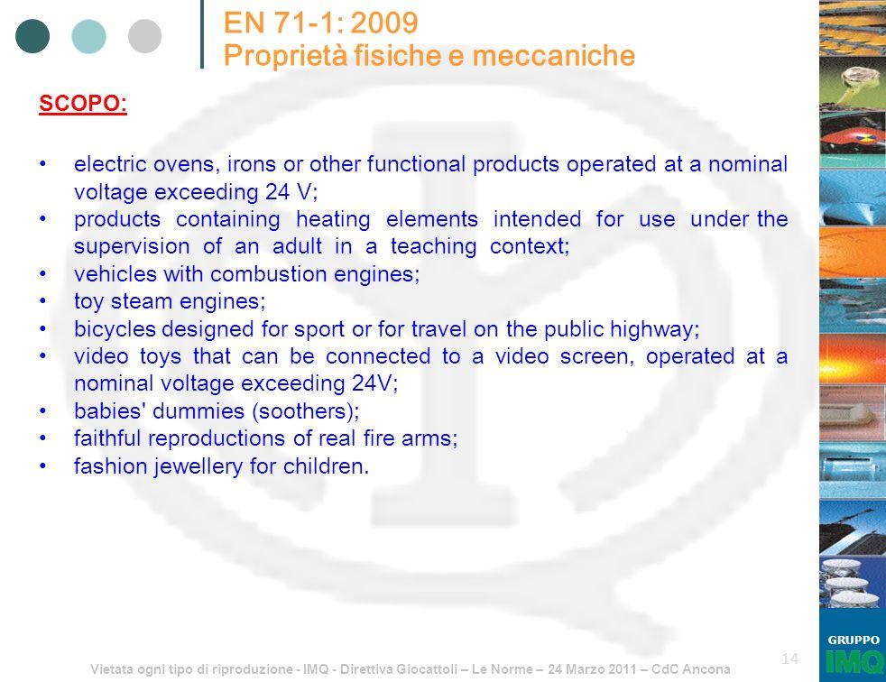 Proprietà fisiche e meccaniche