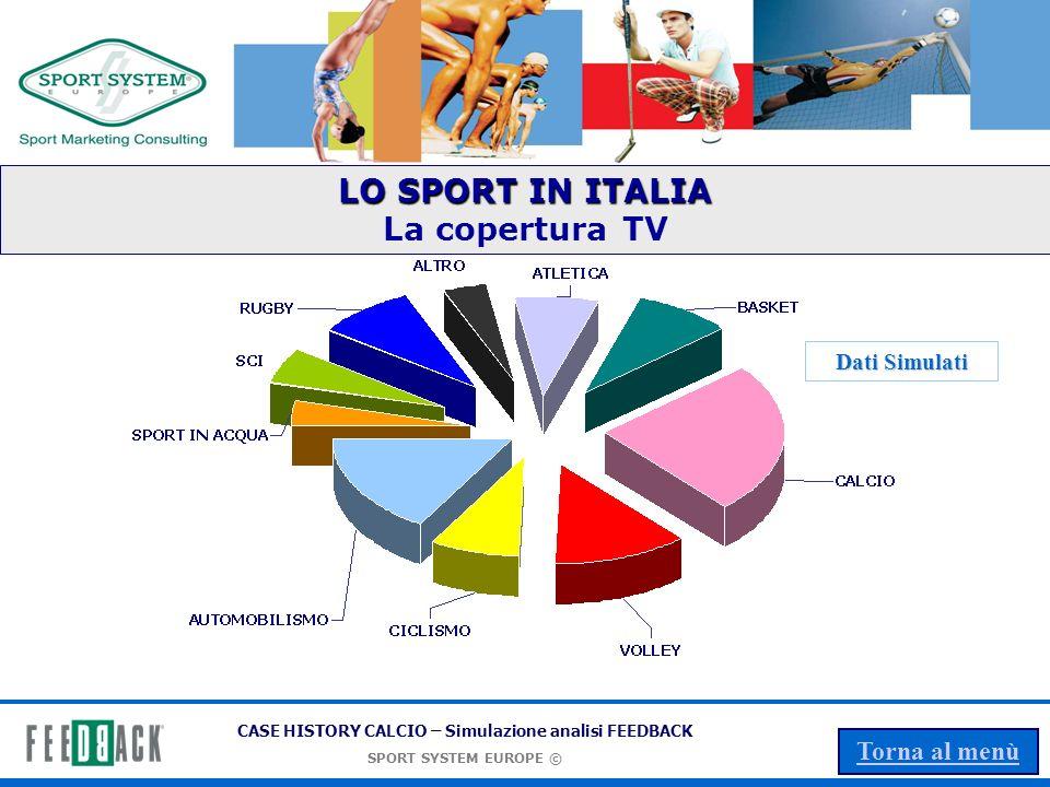LO SPORT IN ITALIA La copertura TV