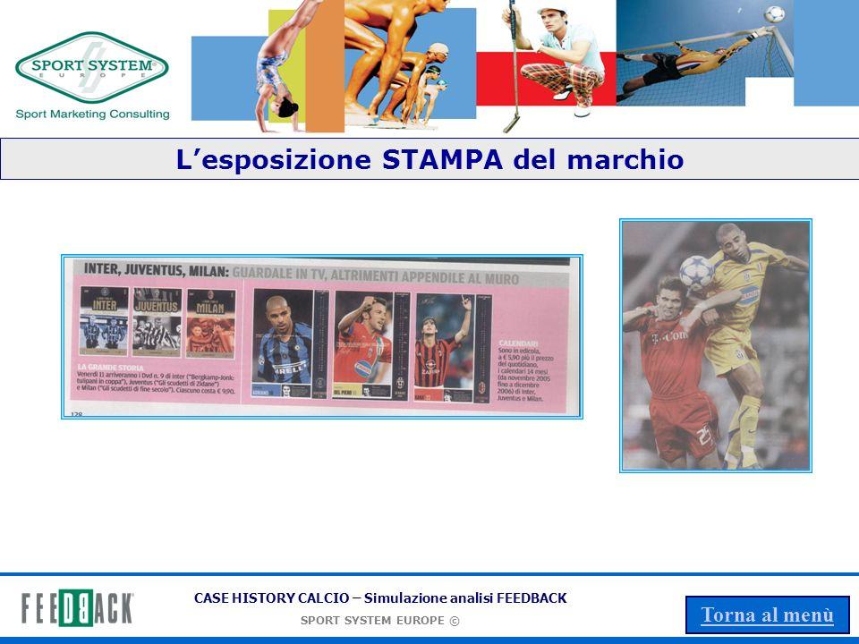 L'esposizione STAMPA del marchio
