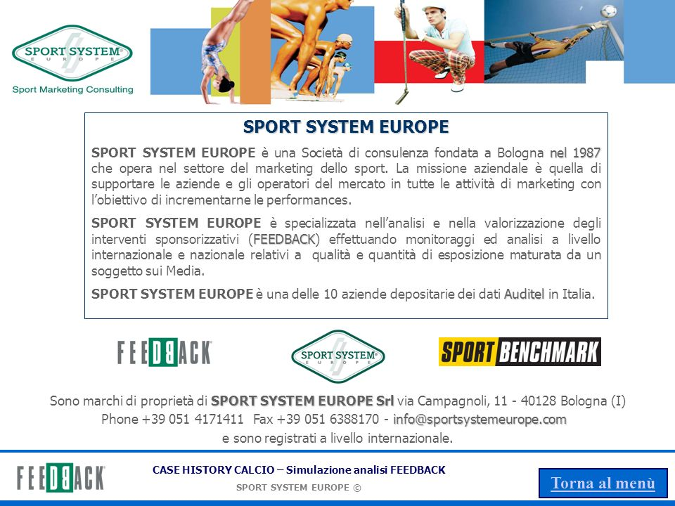 SPORT SYSTEM EUROPE