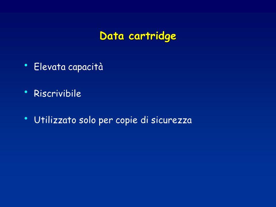 Data cartridge Elevata capacità Riscrivibile