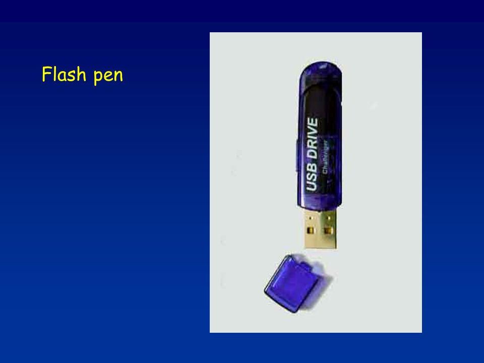 Flash pen