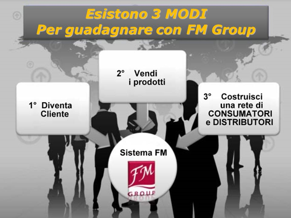 Per guadagnare con FM Group